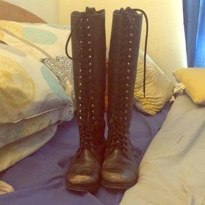 Steve Madden Tall Abee Boot Size 8